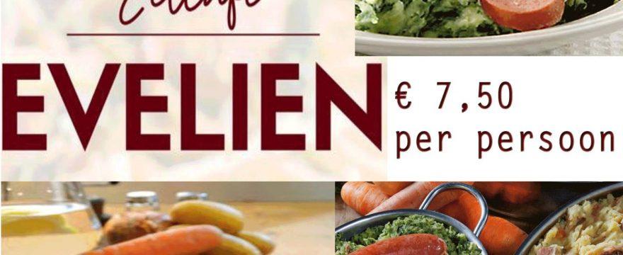 eetcafe Evelien – nieuwjaar – etentje